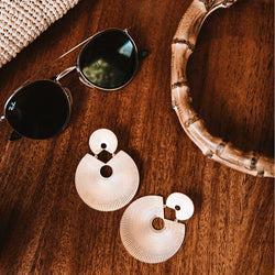 Hunter Blake Designs: The Double Circle Earring - SB Shop