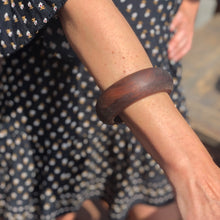 Prickly Dame: Black Walnut Wooden Bangle - SB Shop