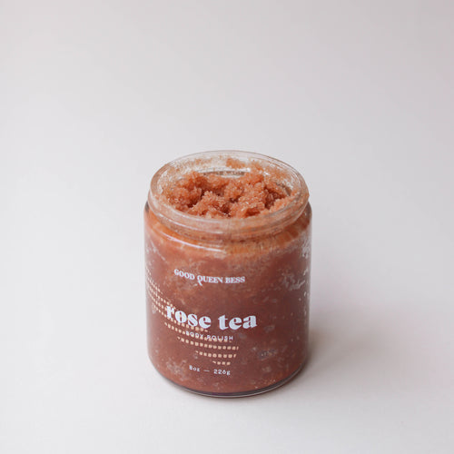Good Queen Bess: Rose Tea Scrub
