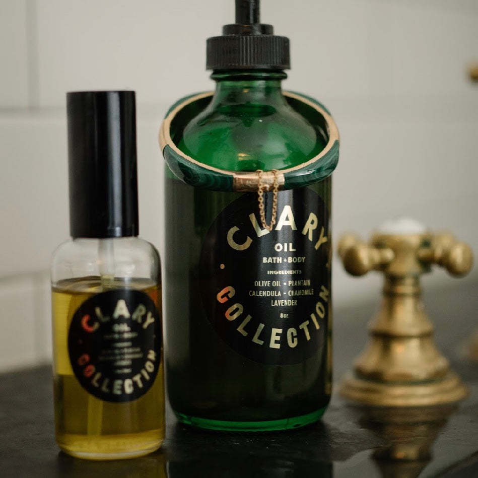 Clary Collection: Bath & Body Oil - SB Shop