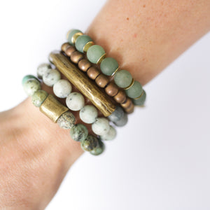SB + OMI Beads: The Green Set