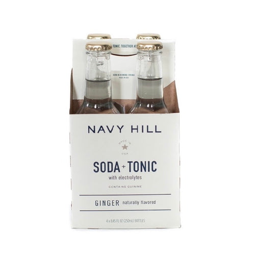 Navy Hill: Ginger Soda + Tonic - SB Shop