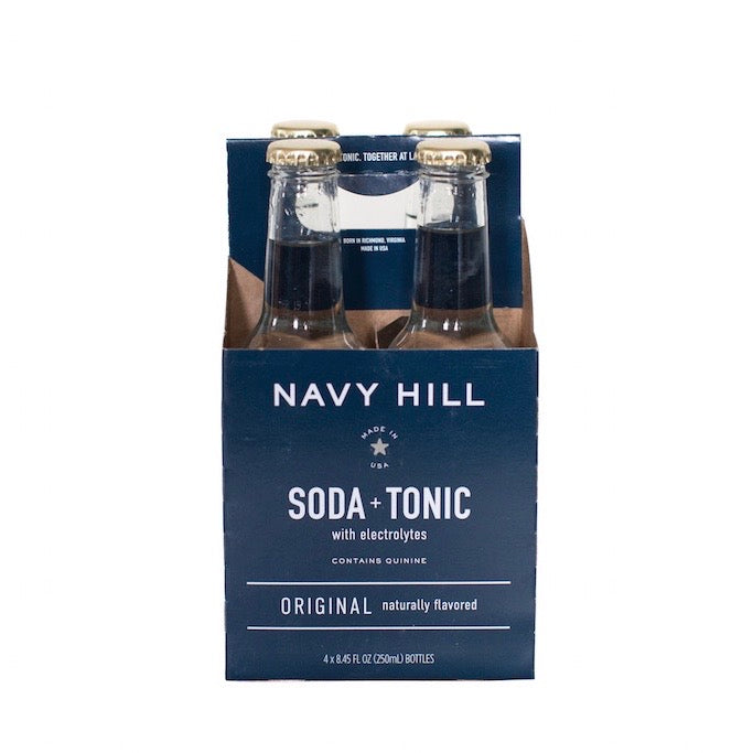 Navy Hill: Original Soda + Tonic - SB Shop