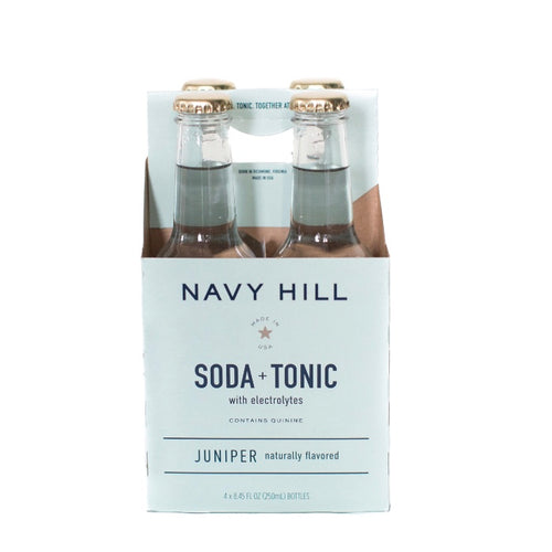 Navy Hill: Juniper Soda + Tonic - SB Shop