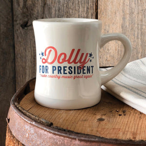 Southern Fried Design Barn: Dolly For President Mug