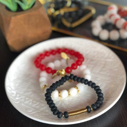 SB + OMI Beads College Collection: University of Georgia/University of Louisville Trio Set