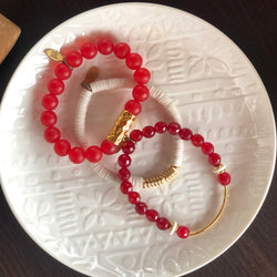 SB + OMI Beads College Collection: University of Alabama Trio Set