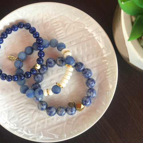 SB + OMI Beads College Collection: University of Kentucky/University of Memphis Trio Set