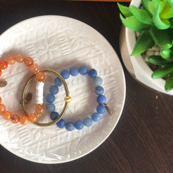 SB + OMI Beads College Collection: Auburn University/University of Florida Trio Set