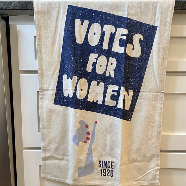 SINCE 1920: 'Votes for Women' Kitchen Towel