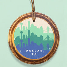 ARCHd: Dallas Retro Skyline Ornament