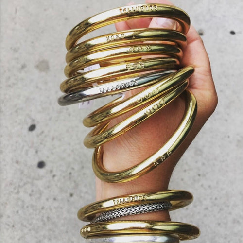 Dillen Jewelry: Brass Bangle
