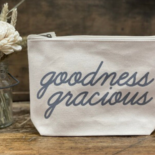 Southern Fried Design Barn: goodness gracious Zippered Pouch