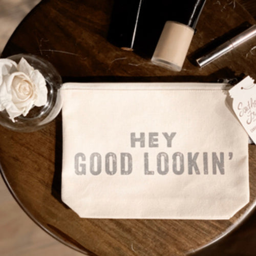 Southern Fried Design Barn: Hey Good Lookin' Zippered Pouch