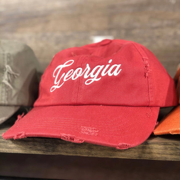 Southern Fried Design Barn: Georgia Hat