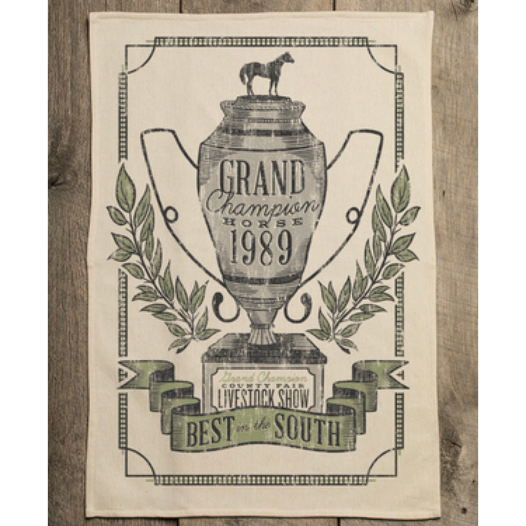 Southern Fried Design Barn: Grand Champion Horse Kitchen Towel