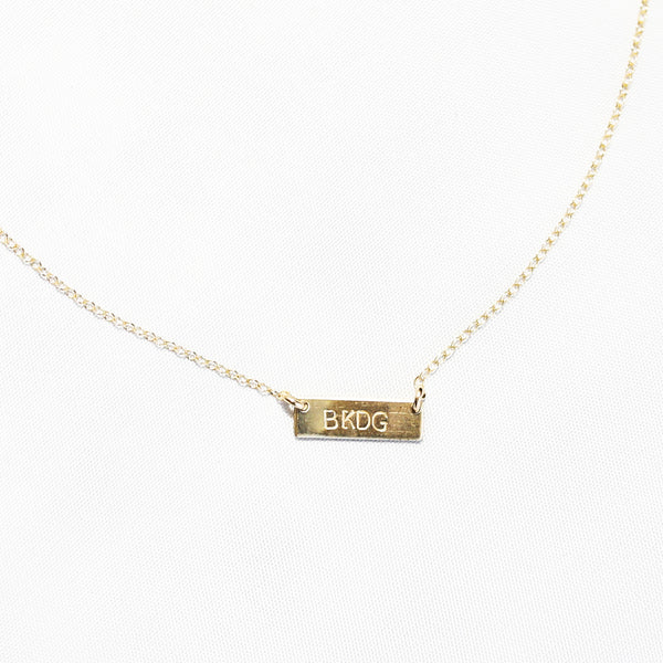 SB + ABLE: BKDG Gold Necklace