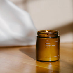 gold + ivy: dusk candle