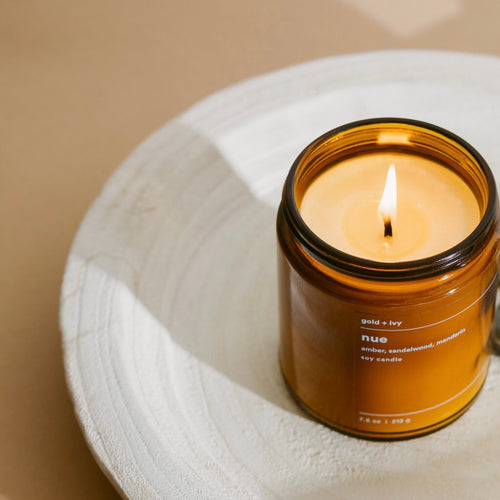 gold + ivy: nue candle