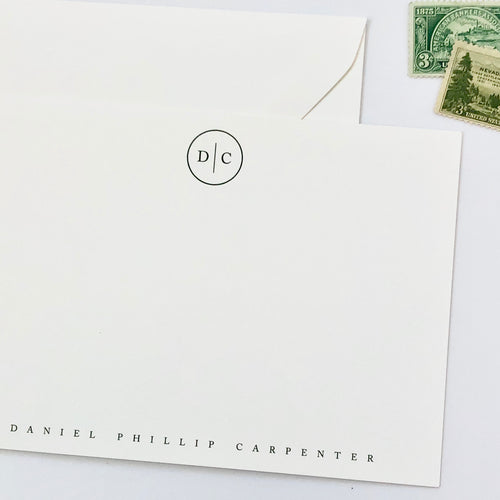 Darby Cards: Caslon Stationery