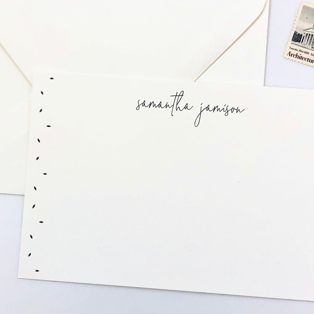 Darby Cards: Modern Seedling Stationery