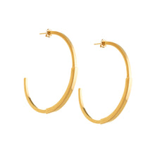 J. Ervan Jewelry: Loma Large Hoop Earrings