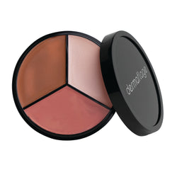 Dermaflage: Lit From Within Bronzer, Blush & Highlighter Trio