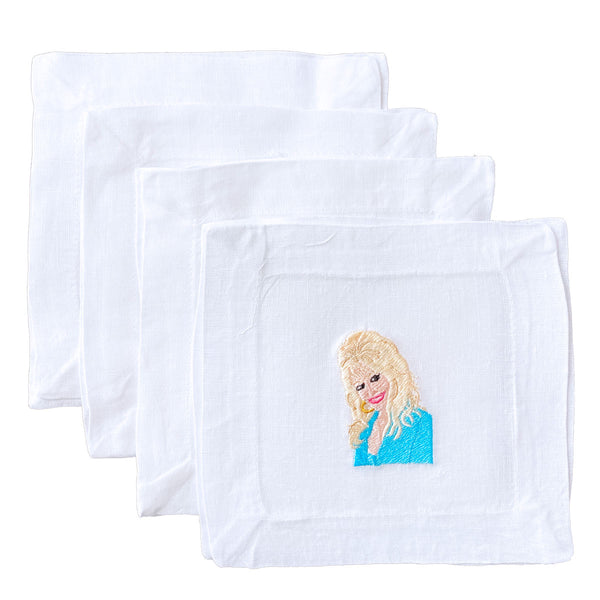 Lettermade: Dolly Parton Cocktail Napkins