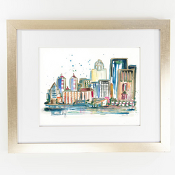 Erika Roberts Studio: Louisville Watercolor Fine Art Print - SB Shop