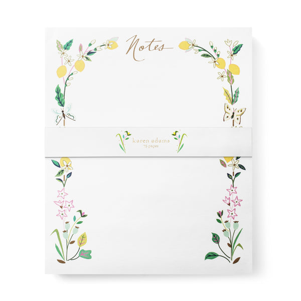 Karen Adams Designs: Citrus Note Pad