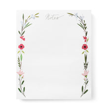 Karen Adams Designs: Floral Note Pad