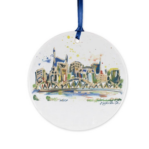 Erika Roberts Studio: Nashville Ornament - SB Shop