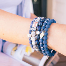 SB + OMI Beads: Blue Set of Five - SB Shop
