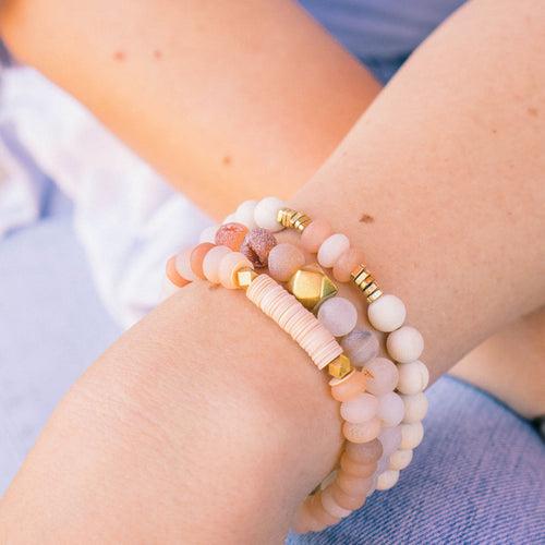 SB + OMI Beads: Blush Trio Set - SB Shop
