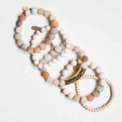 SB + OMI Beads: Creamy Blush Set