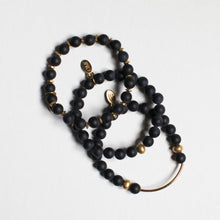 SB + OMI Beads: Black Matte Trio