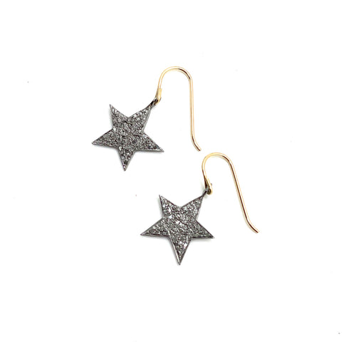 Carden Avenue: Pave Star Earring