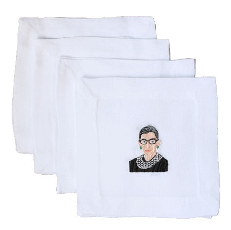 Lettermade: RBG Cocktail Napkin