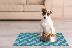 Dwell & Good: Diagonal Bones Pet Mat - SB Shop