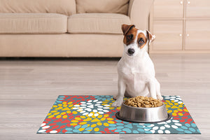 Dwell & Good: Flower Paws Pet Mat - SB Shop