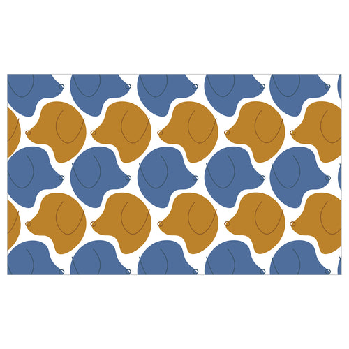 Dwell & Good: Pack O' Pups Pet Mat - SB Shop