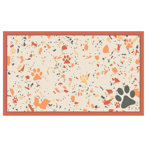Dwell & Good: Terrazzo Treats Pet Mat - SB Shop