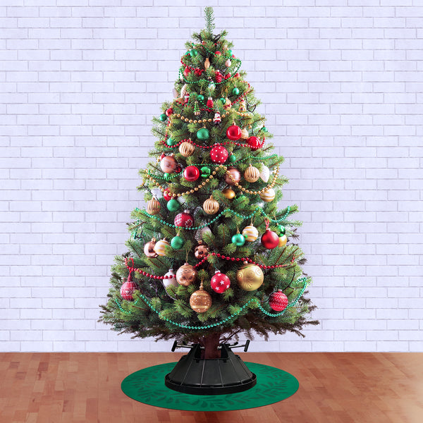 Dwell & Good: Christmas Petals Tree Mat