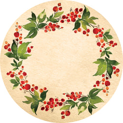 Dwell & Good: Christmas Wreath Tree Mat