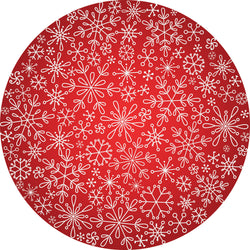Dwell & Good: Christmas Snowflakes Tree Mat