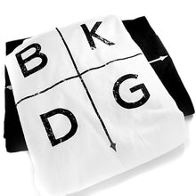 BKDG: Arrow T-Shirt in White