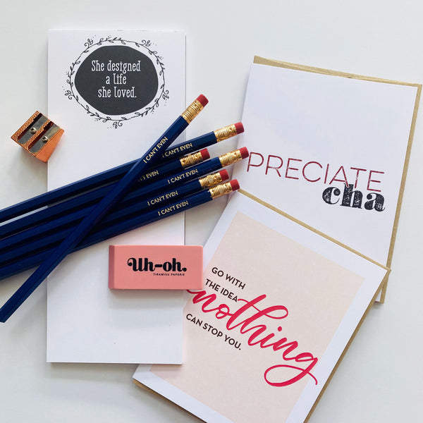 Tiramisu Paperie: She Designed a Life Care Pack