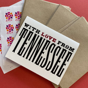 Tiramisu Paperie: With Love Notecard Set
