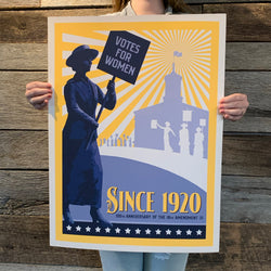 SINCE 1920 Art Print - SB Shop
