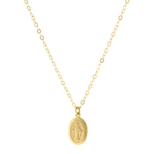 Carden Avenue: Tiny Golden Medallion Necklace